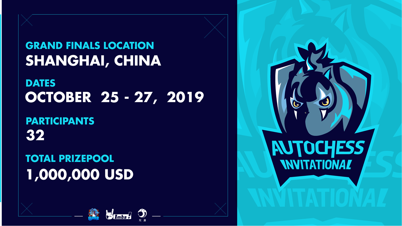 The Final 32 of Auto Chess Invitational 2019